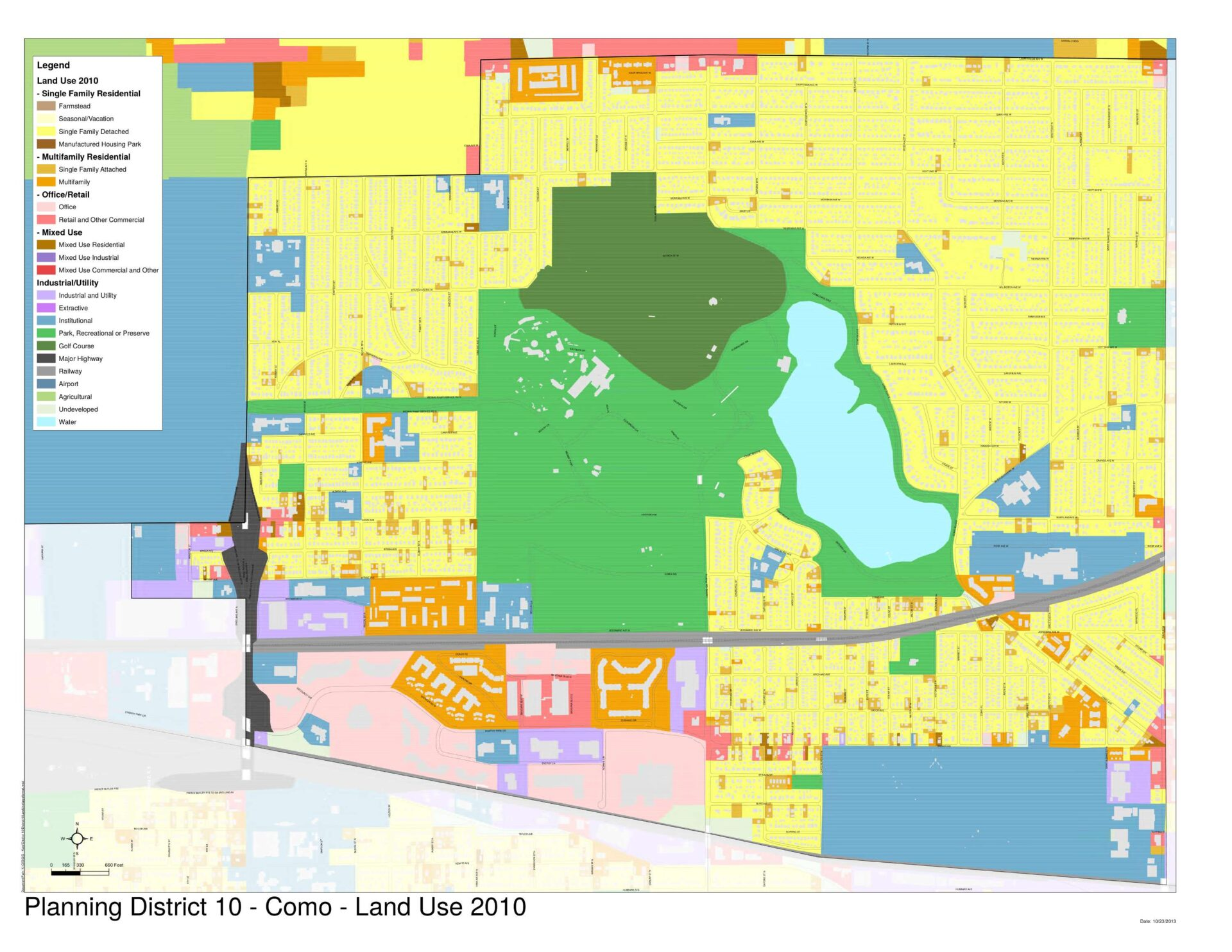 District 10 Land Use Map